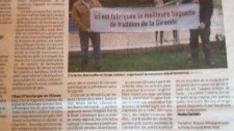 Article Journal Sud Ouest Concours Baguettes