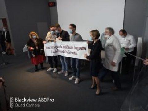 remise des prix du concours 2021 de la Meilleure Baguette de Tradition Française